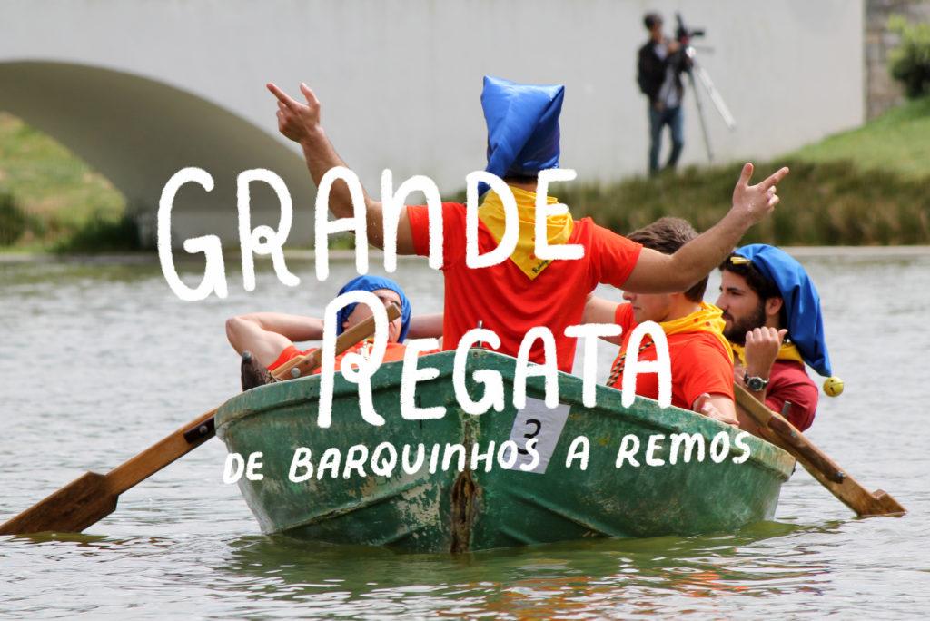 Grande Regata de Barquinhos a Remos